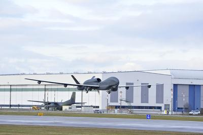 First Sensor Test Flight of EURO HAWK® Unmanned Aircraft successfully accomplished