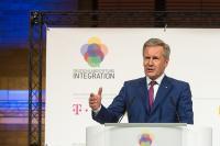 Bundespräsident a.D. Christian Wulff, Vorsitzender des Stiftungsrates der Deutschlandstiftung Integration