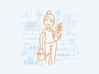 Illustration zum Themenfeld Handlungsfelder