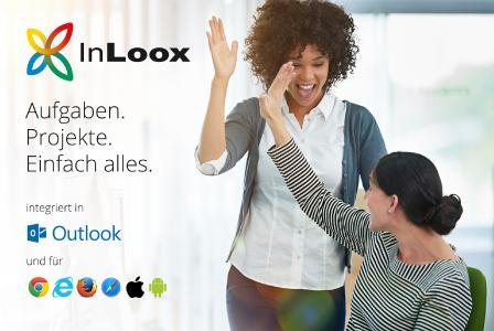 InLoox - Die Outlook-integrierte Projektmanagement-Software für Desktop, Web und Smartphone