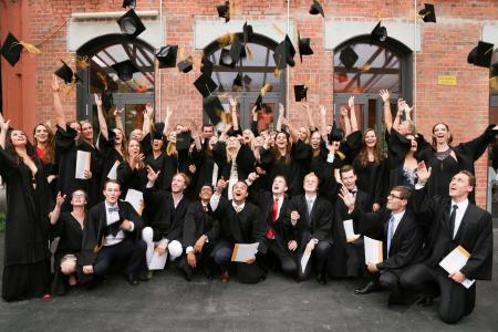 Abschlussfeier der International School of Management (ISM)
