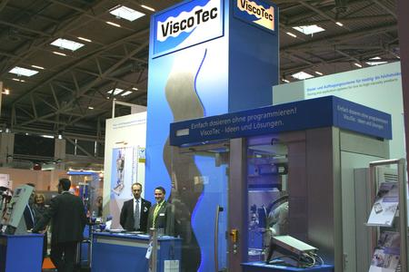 ViscoTec-Messestand