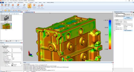 Advanced wall thickness analysis: fast, accurate, inexpensive