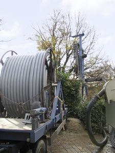 Bei der Sanierung kamen zwei koaxiale RAUGEO HPR Hochdruck-Tiefensonden in einer Tiefe von 450 Metern zum Einsatz