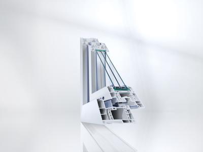 Das vollarmierte Profilsystem GENEO setzt mit dem Hightech-Werkstoff RAU-FIPRO neue Maßstäbe beim Energiesparen.