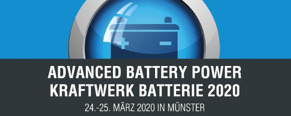 """""""Advanced Battery Power""""- Conference, Contributions are welcome!"""