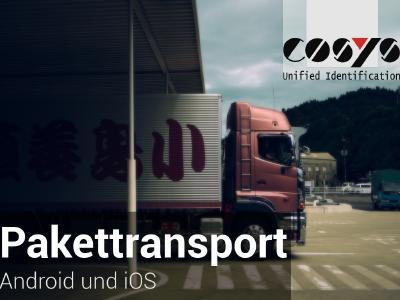 Datenerfassung mit Android und iOS im Pakettransport