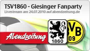 Giesinger Fanparty Livestreaming by TV1.EU