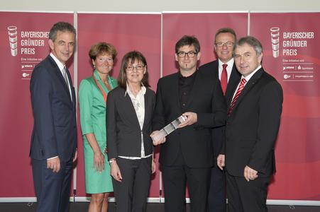 """Toolcraft receives Bavarian Founder Award 2014 in the category """"Newcomer"""""""