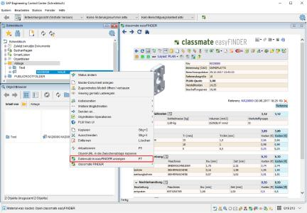 Die mächtigen Funktionen von simus classmate zur Verbesserung der Datenqualität und zur Kostenkalkulation lassen sich direkt aus dem SAP ECTR der DSC Software AG aufrufen.