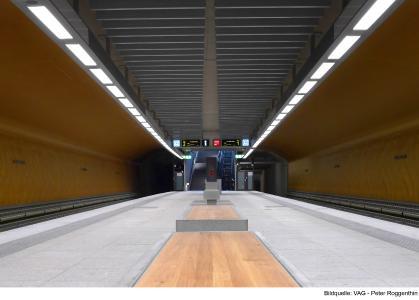 U-Bahnhof KLINIKUM NORD / Bildquelle: VAG – Peter Roggenthin