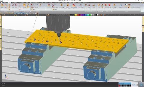 ProfiCAM-Version R1804 – Mit der automatischen Konturerkennung wird die Erkennung und Bearbeitung von Konturprofilen vereinfacht und beschleunigt.