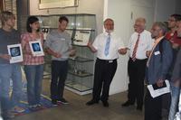 Die Teilnehmer der Informatik-Fortbildung an der Hochschule Aalen. (privat)