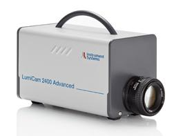The new LumiCam 2400 imaging colorimeter captures the luminance and color distribution of displays and control indicators with an effective resolution of five megapixels