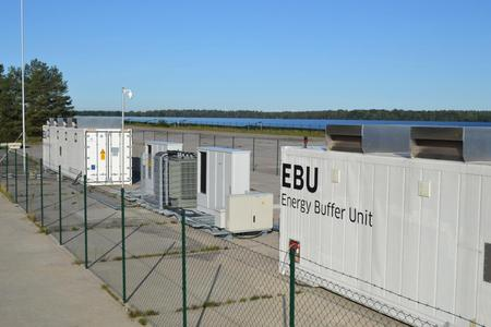 BELECTRIC EBU at the solar power plant Alt Daber, Germany