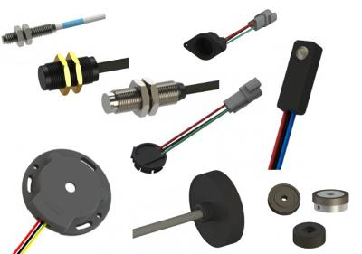 Cost-effective magnetic speed and proximity sensors provide long-life and highly durable measurement solutions