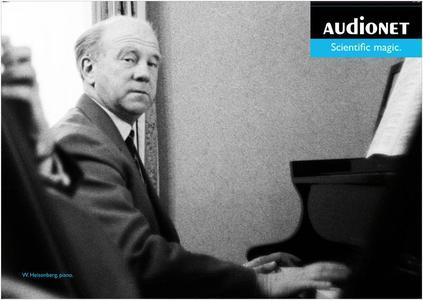 Werner Heisenberg mit Klavier. © Getty Images © Audionet