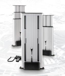 Der neue Multilift II mit innenliegendem Schlitten – ideal für alle Anwendungen, bei denen eine vertikale Verstellbewegung auf ein festgelegtes Einbaumaß trifft