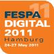 Logo of event FESPA Digital Hamburg 2011