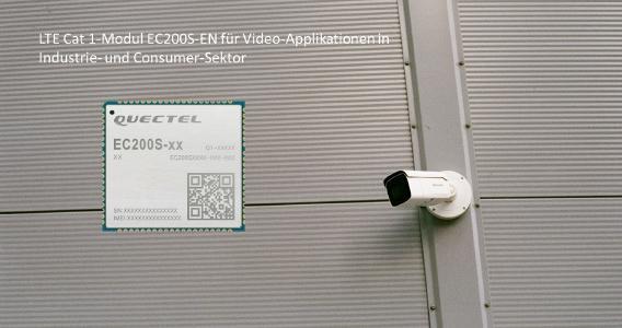 LTE Cat 1-Funkmodul EC200S-EN für IoT-Applikationen