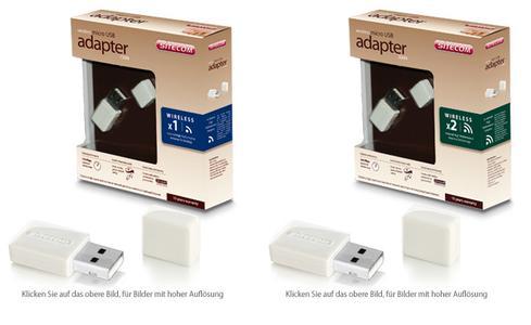 WL-349 Wireless USB Micro Adapter 150N UVP 29,99 euro, WL-352 Wireless USB Micro Adapter 300N UVP 34,99 euro