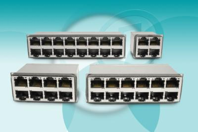 Pulse Electronics Launches Integrated Connector Module Family for 10GBASE-T Ethernet Switches
