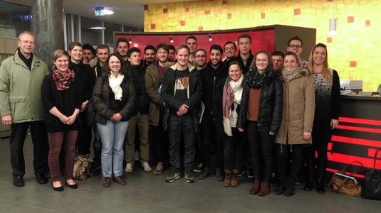 Aschaffenburger Studierende on tour in Heilbronn Franken OPTIMA (Foto: WHF GmbH)