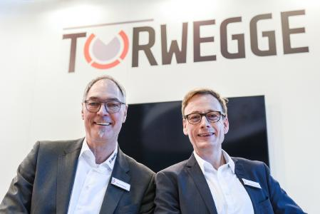 Uwe Eschment (l.) und Uwe Schildheuer bilden seit März die Doppelspitze der TORWEGGE / Foto: TORWEGGE