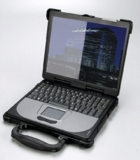 "Full-ruggedized Industrie Sub-Notebook mit 12,1"" Bildschirm"