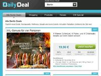 (Screenshot: dailydeal.de)