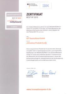 Innovationspreis 2012