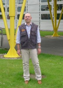 Joschi Rohe, Leiter Elektronische Medien bei igus in Köln.