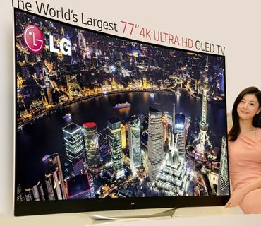 LG77 Inch 4K Ultra HD OLD TV
