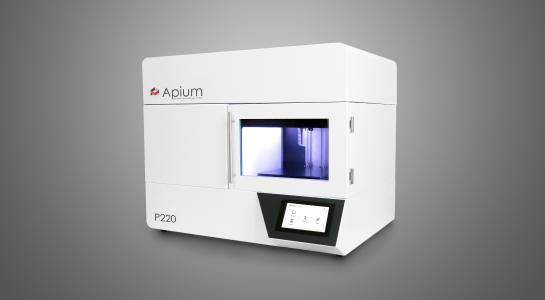 Apium P220 Material Extrusion 3D printer for high-performance materials