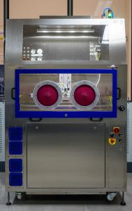 The compact, cleanroom-suitable JetStation-HP is designed for cleaning tasks involving small quantities of parts that have to meet the highest cleanliness standards. With the manual cleaning booth, parts are loaded and unloaded via a front flap with hand access.  Image Courtesy: acp systems