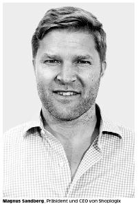 Magnus Sandberg, Präsident und CEO von Shoplogix