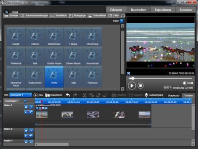 Ideal für Hobby- und Semiprofi-Filmer: Video Explosion Deluxe und Ultimate (Screenshot)