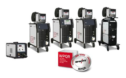 Welding machines from EWM, With the WPQR package from EWM, the FPC creates qualified welding procedure specifications according to standard welding processes for all EWM welding machines, regardless of the series, Photo: EWM AG