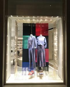 Modeboutique in Florenz, Pilkington OptiView™ Protect OW