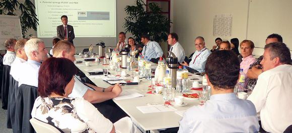 IFLEXX Community visiting Implico in Hamburg. © Implico GmbH