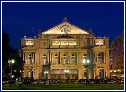Außenansicht des Teatro Colón in Buenos Aires, Argentinien © Teatro Colón (Cecilia Scalisi)