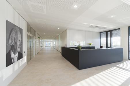 Das Gebäude wurde so konzipiert, dass eine multifunktionale Nutzung möglich ist.