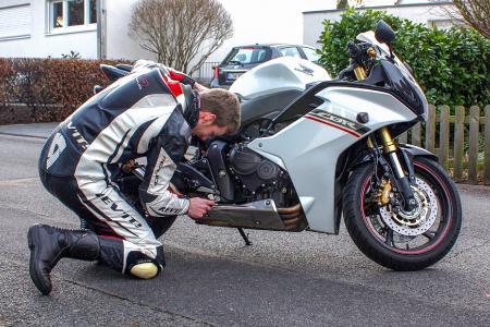 Motorradfrühling