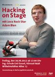 Hacking on Stage mit Java Rock Star Adam Bien