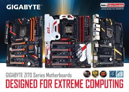 GIGABYTE präsentiert: die neue Mainboard-Modellreihe 100