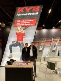 Christina Bauer (Marketing und Sales Support) und Lars Hahn, Gebietsverkaufsleiter u.a. für Österreich