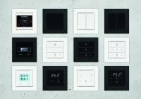 Cala series: Smart room controllers and push-buttons