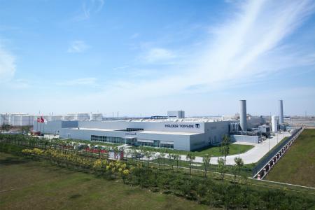 Auch Haldor Topsoes Standort in Tianjin (China) für die Produktion von Stationär- und Nutzfahrzeugkatalysatoren wird von Umicore im Rahmen der Akquisition übernommen