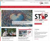 Der AWO Kreisverband Wiesbaden präsentiert sich auf einer neuen übersichtlichen Website.