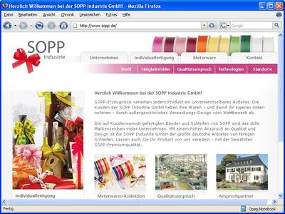 Startseite sopp.de